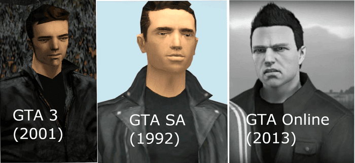 Grand Theft Auto picture of a character.