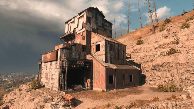 Warzone Mine Shaft POI