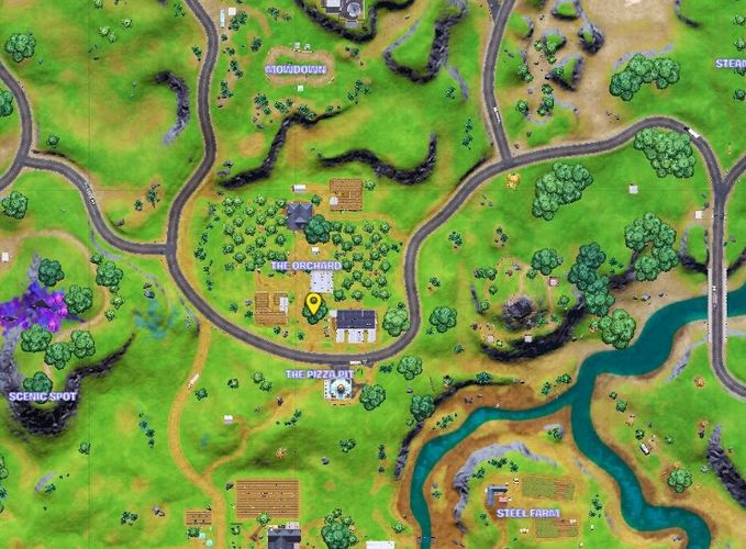 Superman/Clark Kent spawns at the yellow blip in Fortnite.