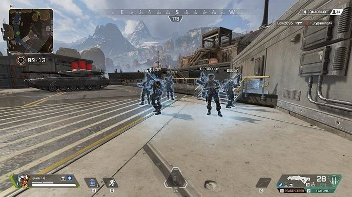 Mirage's current Ultimate Ability sees decoys just stand around, however this could all change in his rework for Apex Legends Season 5. Image courtesy of GuruGamer.