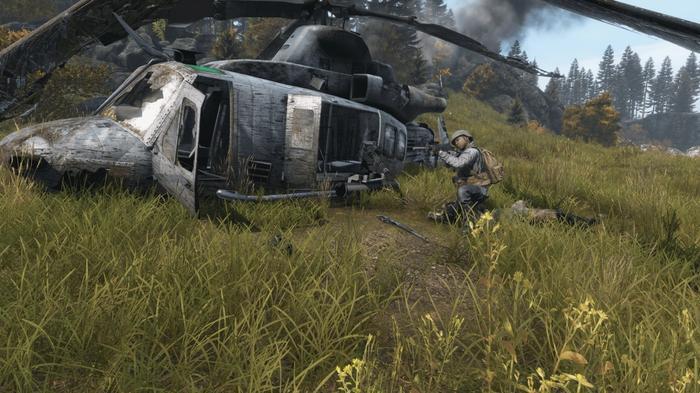 DayZ Helicopter Crash Site