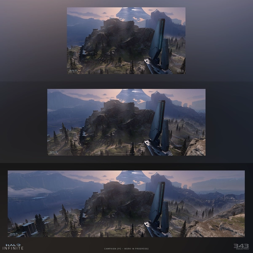 A look at the different aspect ratios coming in Halo Infinite
