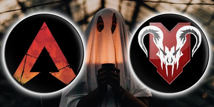 Ghost with Apex and Predator logos