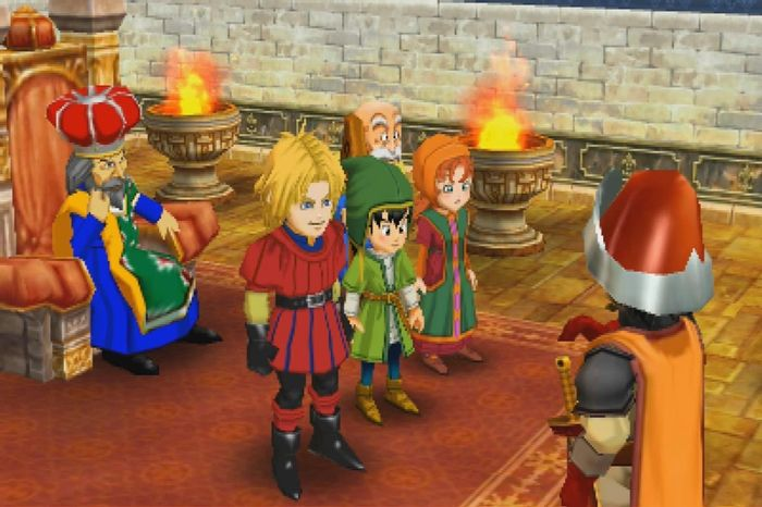 Image showing Dragon Quest 7 characters
