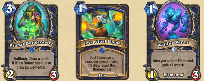 The new Shaman cards.