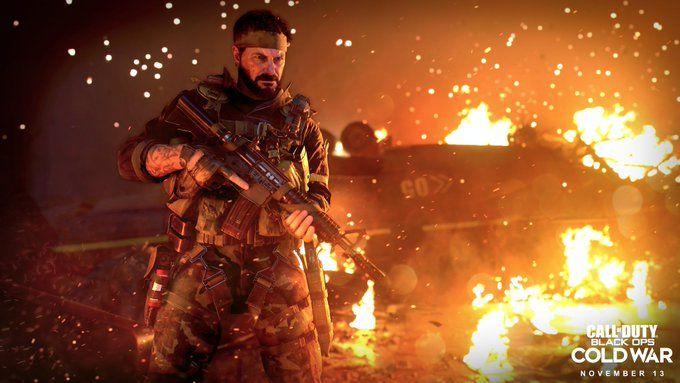 Black Ops Cold War Woods