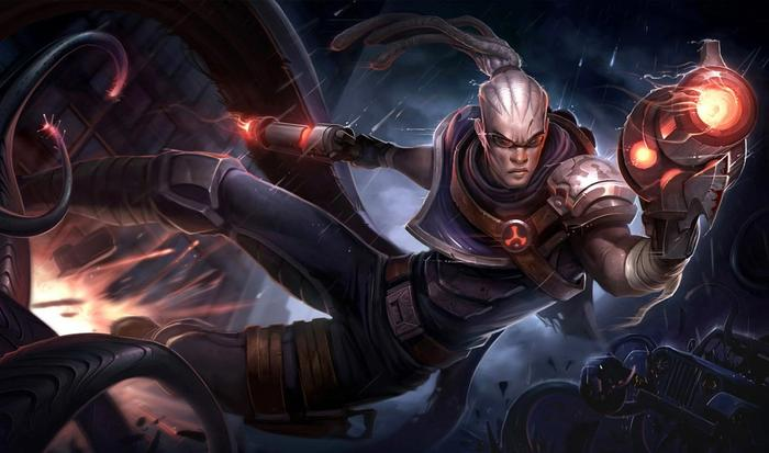 The Hired Gun Lucian skin will be available in Wild Rift on July 8.