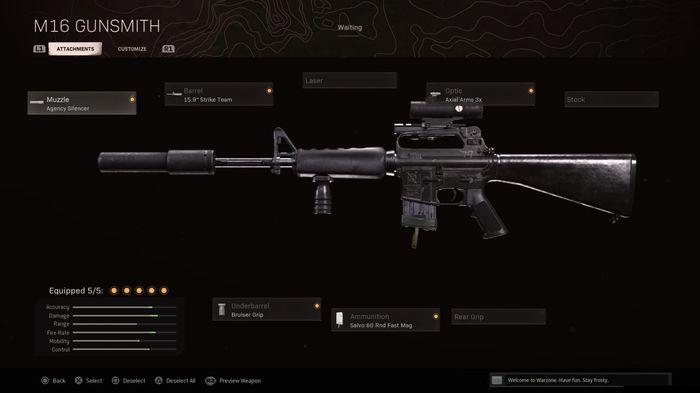 M16 Warzone Loadout