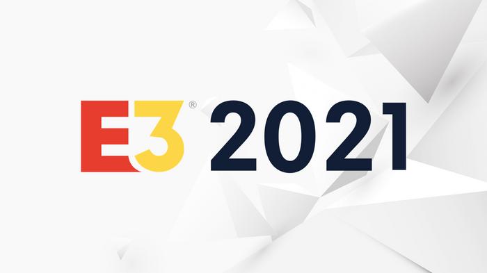 E3 2021 logo on white background