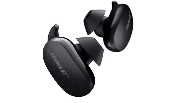 Best Earbuds For Noise Cancellation Bose, product image of black earbuds