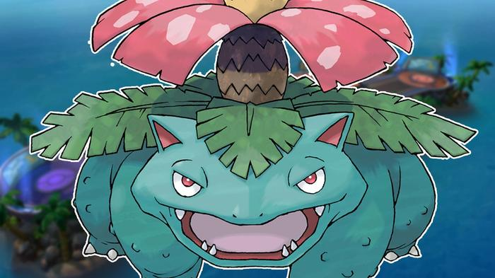 Pokémon Unite Venusaur build portrait.