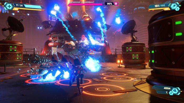 Ratchet and Clank Rift Apart Nefarious Juggernaut Boss Fight guide