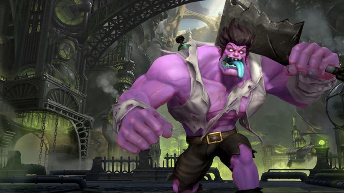 B-Tier champion Dr. Mundo illustrating the League of Legends Wild Rift tier list.