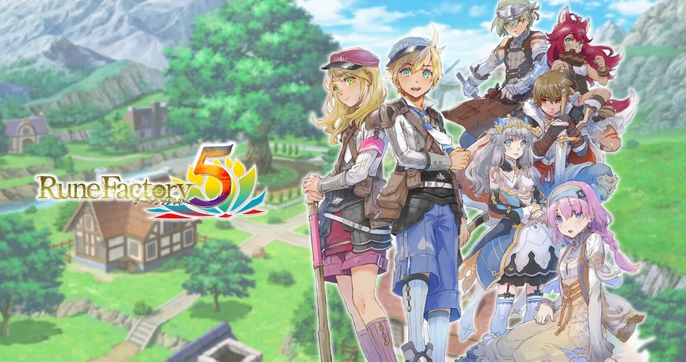 Rune Factory 5 Live Stream Planned For May 15th