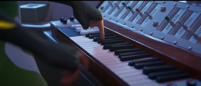 Solfa Cipher piano in Fortnite Season 7 used to communicate with Aliens