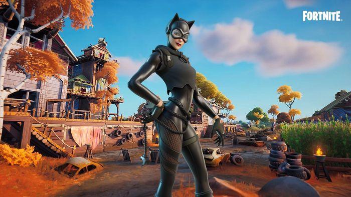 Fortnite Catwoman Zero