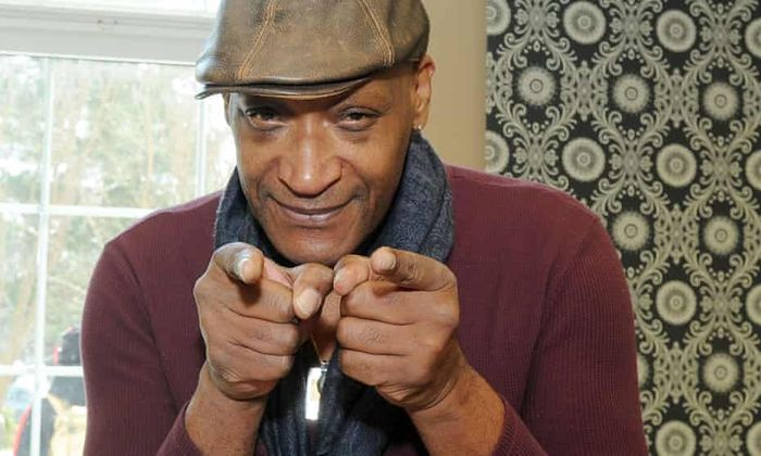 Tony Todd pointing at you with both hands