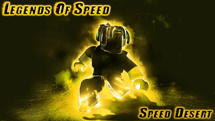 A Legends of Speed character posing.