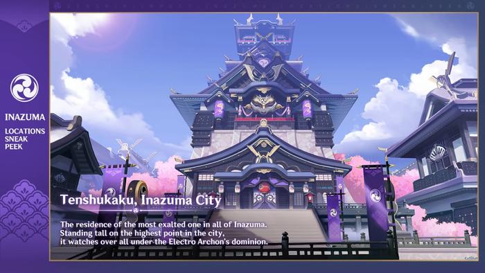 Genshin Impact 1.7 Inazuma Region