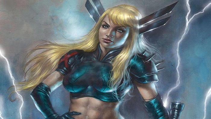 Magik as seen in the Marvel comic books.