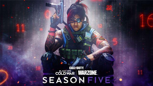 Warzone Season 5 Key Art