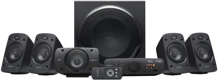 Best Speakers logitech, 6 speakers, plus two remote controls