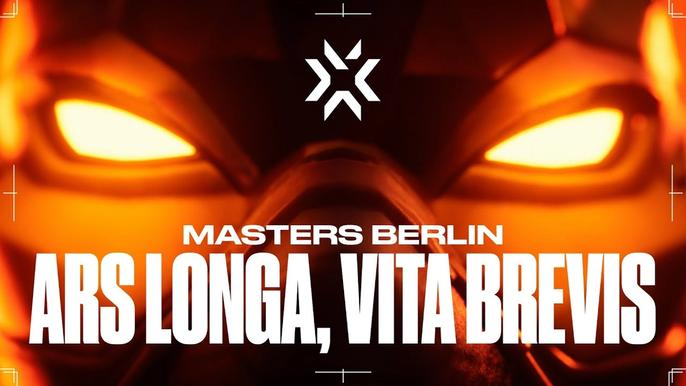 """This image features the cover photo for VCT Masters 3 Berlin """"Ars Longa, Vita Brevis"""""""