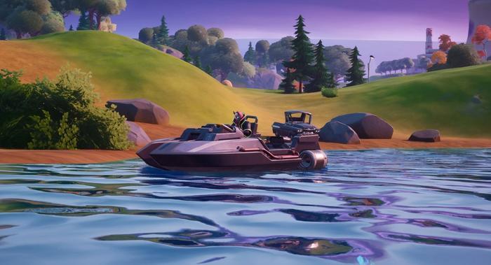 Fortnite boat
