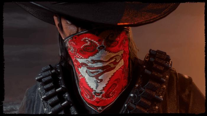 Red Dead Online Hired Gun Kit Bandanna