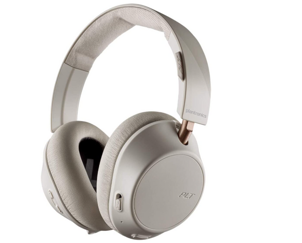 best budget wireless headphones, product image of grey and rose gold headphones