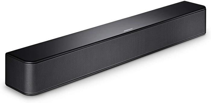 Best soundbar wireless Bose, product image of black soundbar