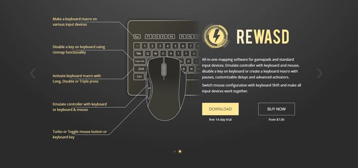 ReWASD screenshot