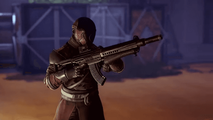 Image from Destiny 2's Witch Queen reveal showing a Guardian holding an auto rifle