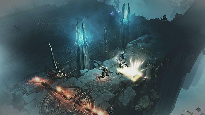 Diablo 3 Reaper of Souls screenshof showing Crusader