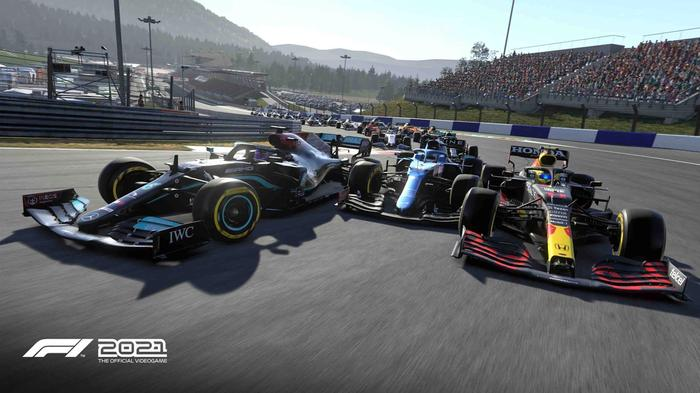 GET YOUR ELBOWS OUT: F1 2021 lets you live your competitive dreams