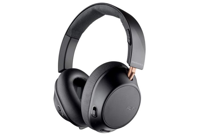 best wireless headphones, image of black and bronze over-ear headphones