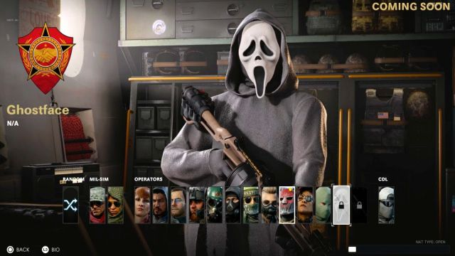 Warzone Ghostface Operator