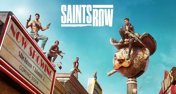 Saints Row 2022 Reboot Key Art