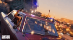 Saints Row 2022 4K Screenshot of car chase pursuit with cops
