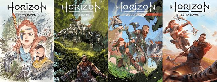 Horizon Zero Dawn: Liberation. Issue 1 Covers