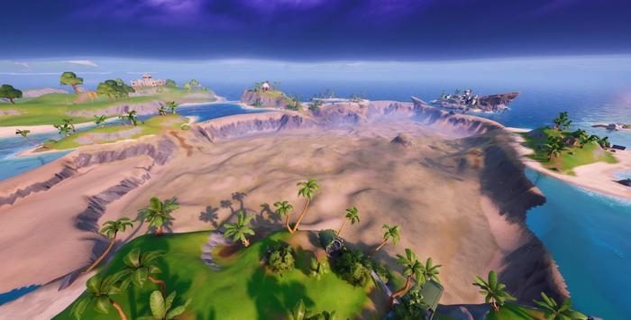 Atlantis POI discovered in Fortnite