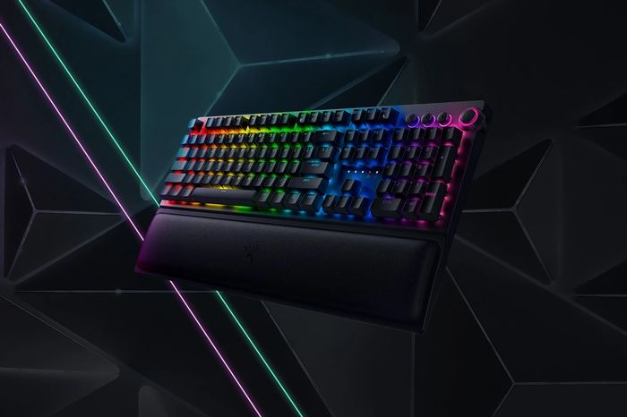 The Razer BlackWidow V3 Pro Keyboard displayed in full.