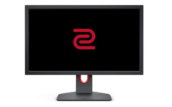 best 144Hz monitor, product image of a black and red gaming monitor