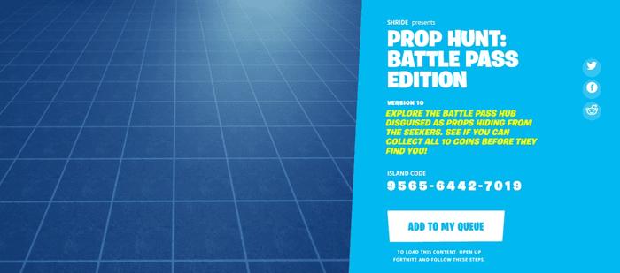 Fortnite Prop Hunt Battle Pass Edition (Image via Epic Games)