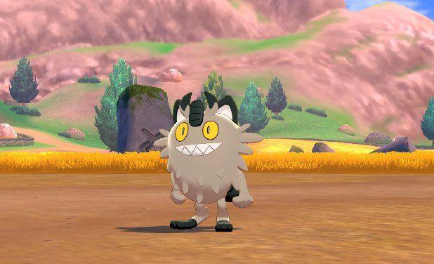 Pokemon Sword and Shield Meowth