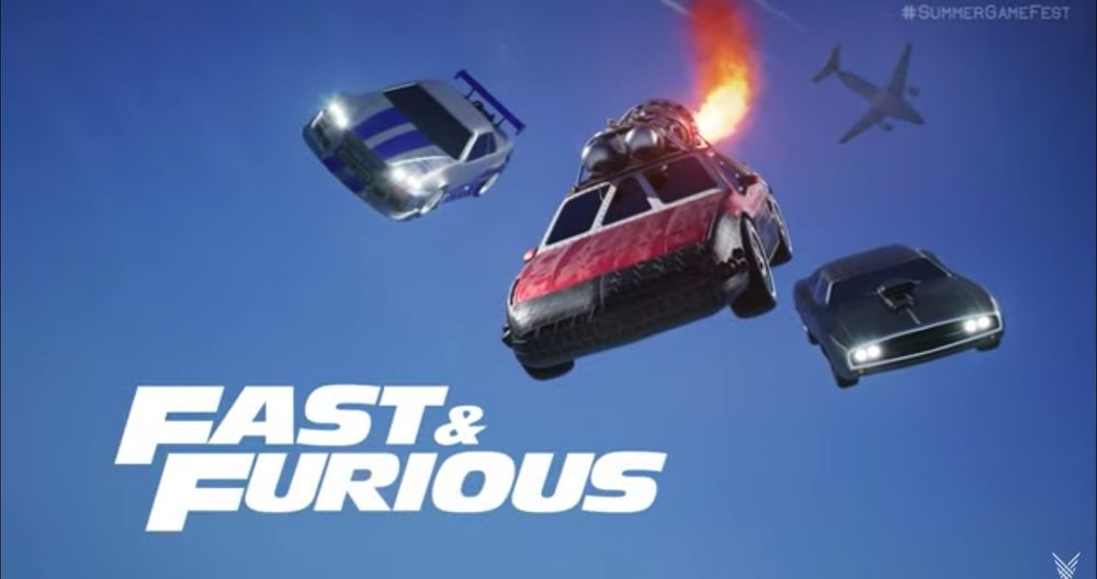 Psyonix Announces Rocket League Fast and Furious Crossover