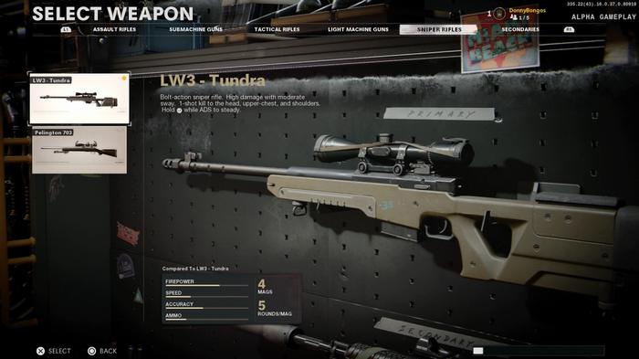 LW3 Tundra Black Ops Cold War
