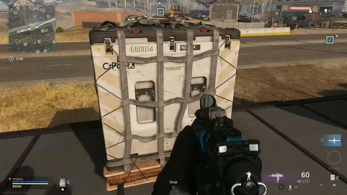 Warzone Loadout Drop Bug