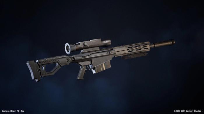 Predator Hunting Grounds NRV-E weapon, AKA the Ultimate Sniper Rifle