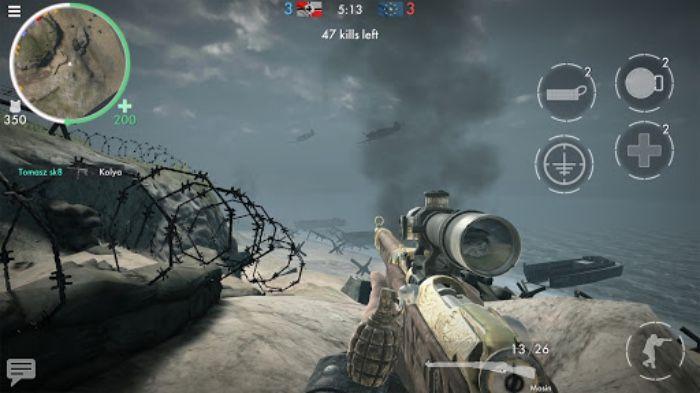 Screenshot from World War Heroes